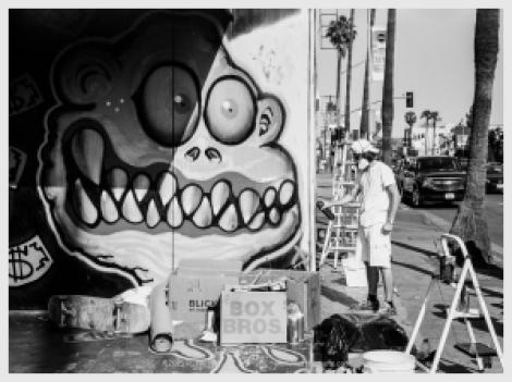 Sunset Blvd Muralist #3