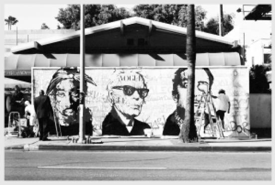 Sunset Blvd Muralist #6